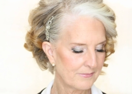 Elder woman wedding hair Las Vegas Mobile Beauty