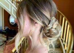 Blonde Hair Bridal Updo Las Vegas Mobile Beauty