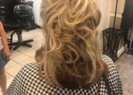 Light Brown Hair Updo for Bridal Party Las Vegas Mobile Beauty
