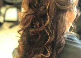 Long Hair Style Bridal With Curls and Extensions Las Vegas Mobile Beauty
